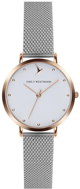 Emily Westwood Classic Silver Mesh EAO-2514S