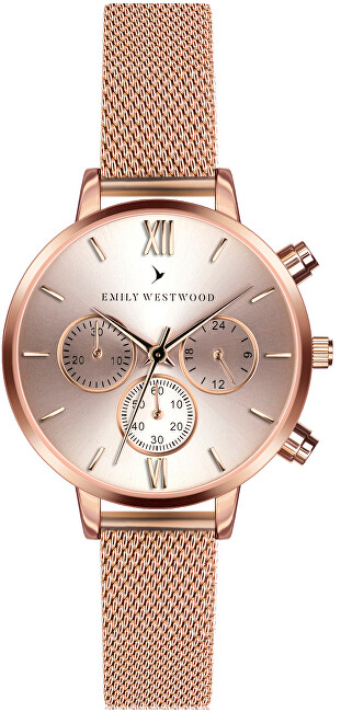 Emily Westwood Wingen Rose Gold Mesh ECO-3214