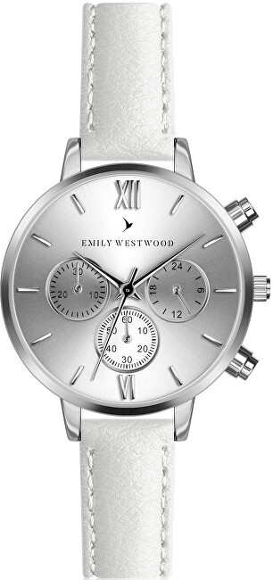 Emily Westwood Willie White Leather ECP-B024S