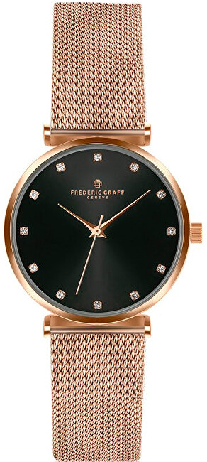 Frederic Graff Batura Star Rose Gold Mesh FCB-3218