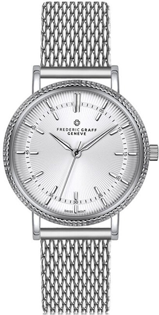 Frederic Graff Mitchell Silver Mesh FCL-3520