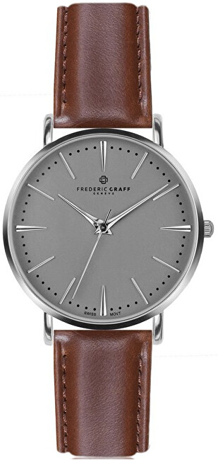 Frederic Graff Silver Eiger Cognac Leather FABB006S