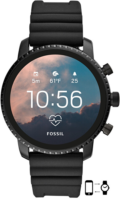 Fossil Smartwatch Explorist FTW4018 - SLEVA
