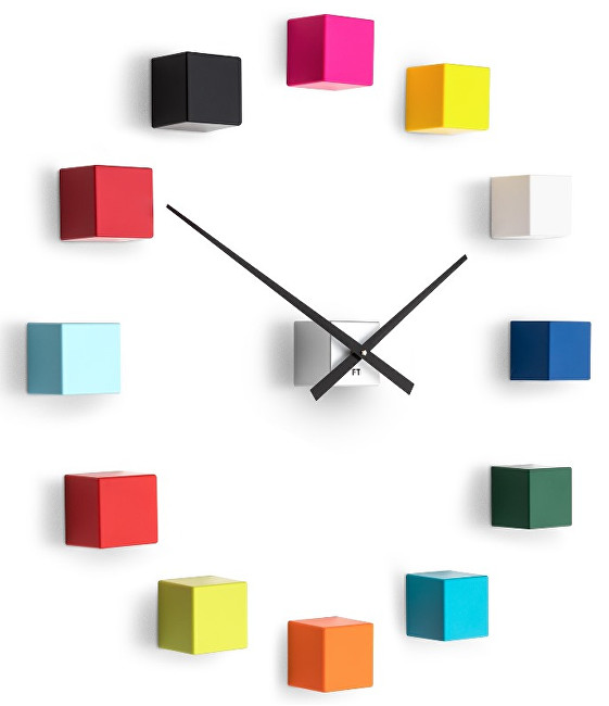 Future Time Nalepovací hodiny Cubic Multicolor FT3000MC