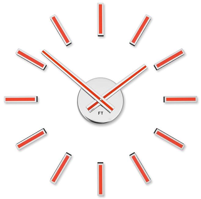 Future Time Nalepovací hodiny Modular Red FT9400RD