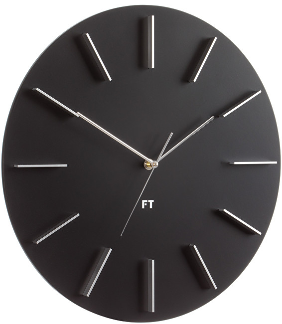 Future Time Round Black FT2010BK