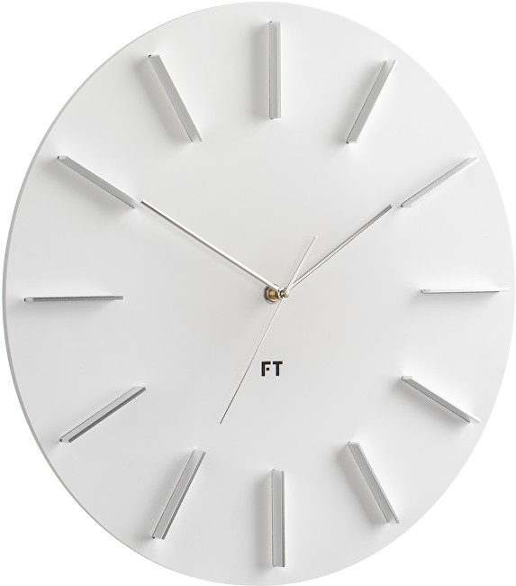 Future Time Round White FT2010WH