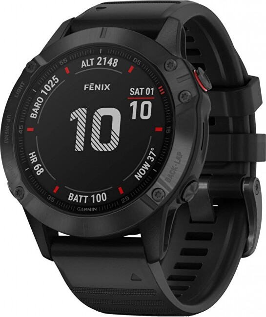 Garmin Fenix 6X PRO Black Black Band 010-02157-91