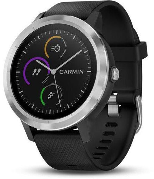 Garmin VivoActive3 Optic Silver-Black band