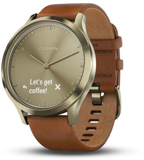 Garmin Vívomove Optic Premium chytré hodinky (vel. S/M) zlaté