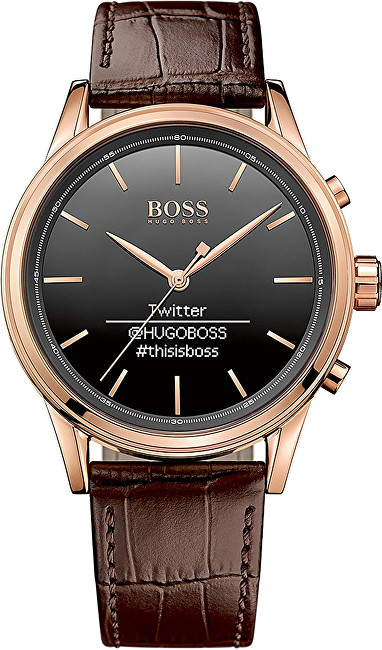 Hugo Boss Smart hodinky Black Smartwatch 1513451