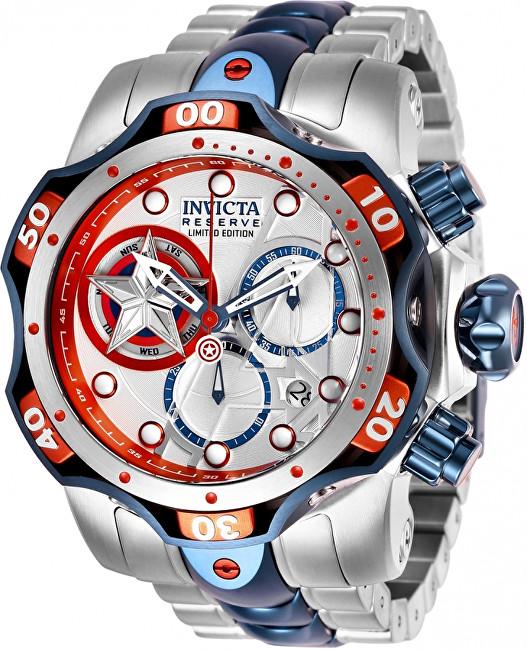 5d42dc568a Invicta Marvel Captain America 27039