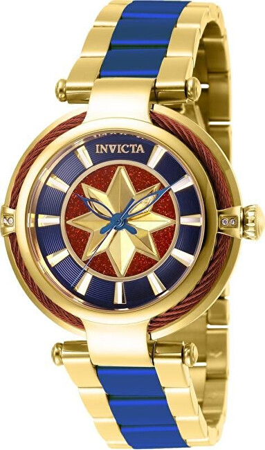 Invicta Marvel Captain America Lady Limited Edition 4000pcs 38 mm 28832