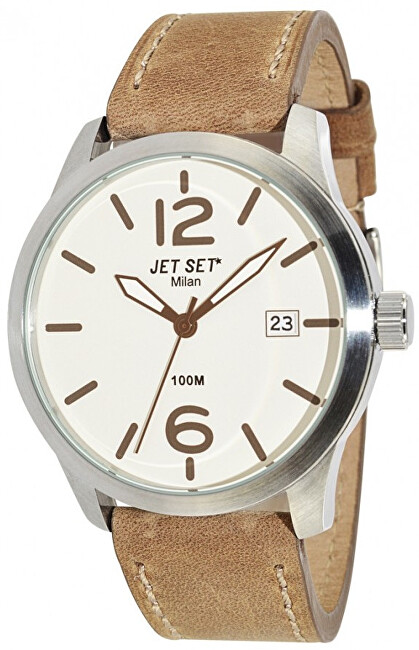 Jet Set Analogové hodinky Milan J63803-656 s vodotěsností 10 ATM