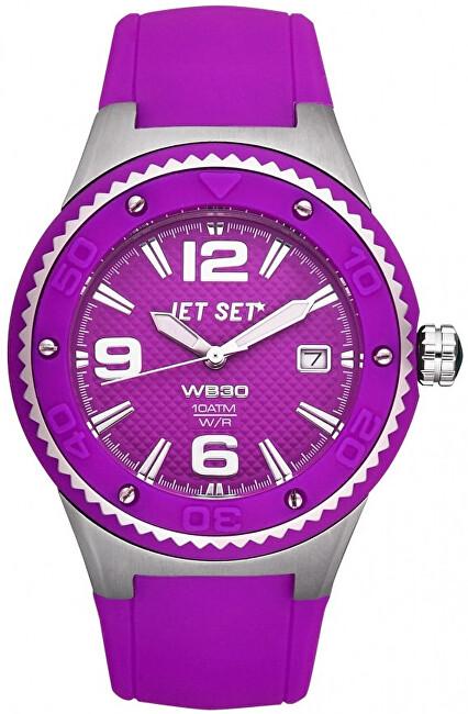Jet Set Analogové hodinky WB30 J53454-060 s vodotěsností 10 ATM