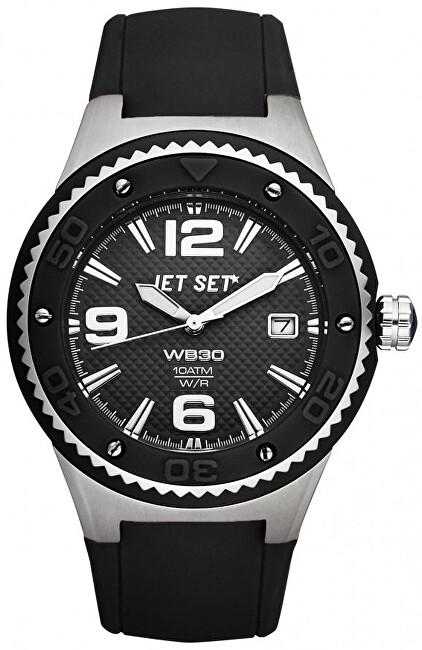 Jet Set Analogové hodinky WB30 J53454-217 s vodotěsností 10 ATM