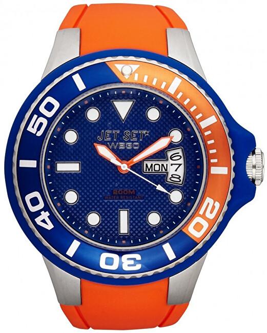 Jet Set Analogové hodinky WB30 J55223-11 s vodotěsností 20 ATM