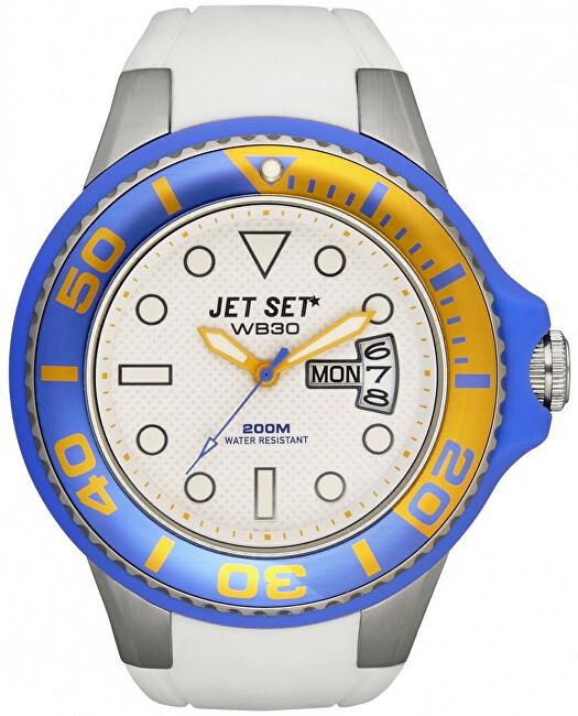 Jet Set Analogové hodinky WB30 J55223-18 s vodotěsností 20 ATM