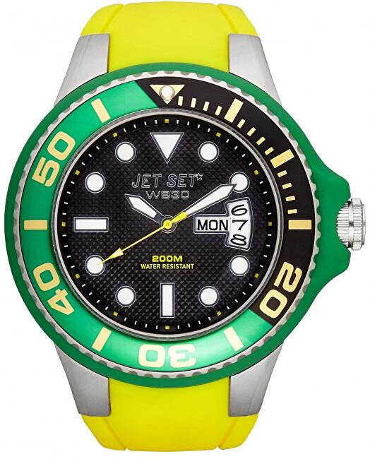 Jet Set Analogové hodinky WB30 J55223-20 s vodotěsností 20 ATM