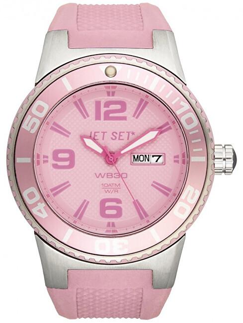 Jet Set Analogové hodinky WB30 J55454-04 s vodotěsností 10 ATM