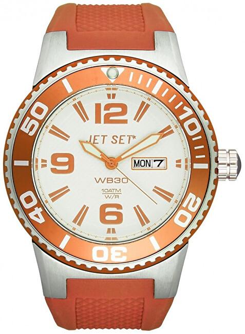 Jet Set Analogové hodinky WB30 J55454-05 s vodotěsností 10 ATM