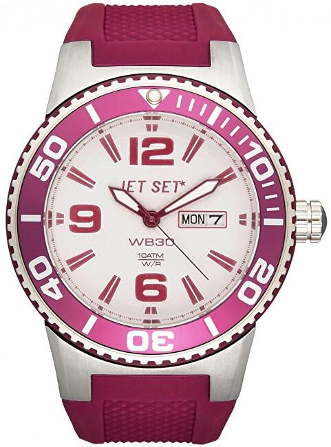 Jet Set Analogové hodinky WB30 J55454-07 s vodotěsností 10 ATM