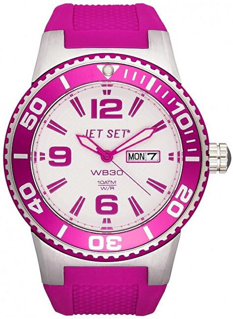 Jet Set Analogové hodinky WB30 J55454-166 s vodotěsností 10 ATM