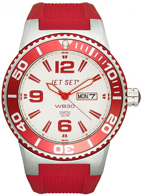 Jet Set Analogové hodinky WB30 J55454-168 s vodotěsností 10 ATM