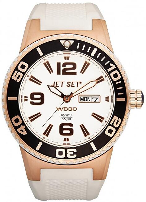 Jet Set Analogové hodinky WB30 J5545R-161 s vodotěsností 10 ATM