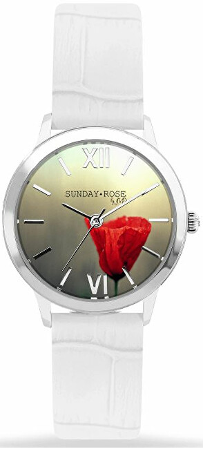 JVD Sunday Rose Darling POPPY WHITE SUN-D04