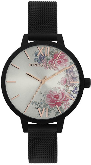 JVD Sunday Rose Fashion MIDNIGHT BLOSSOM