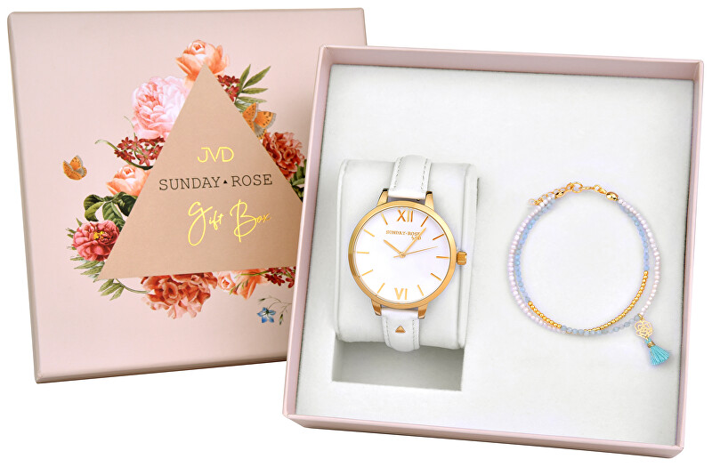 JVD Sunday Rose Fashion ROYAL GOLD SET