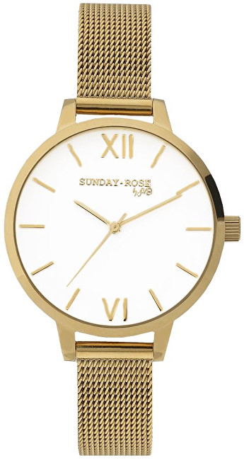 JVD Sunday Rose Fashion ROYAL GOLD SUN-F03