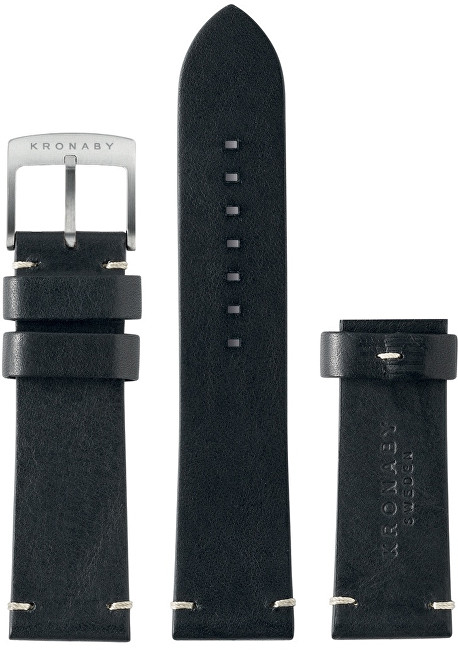 Kronaby Řemínek černý 22 mm A1000-0181 c7009b14200