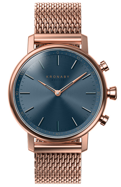 Kronaby Vodotesné Connected watch Carat A1000-0668