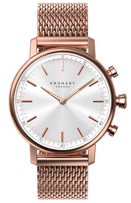 Kronaby Vodotesné Connected watch Carat A1000-1400