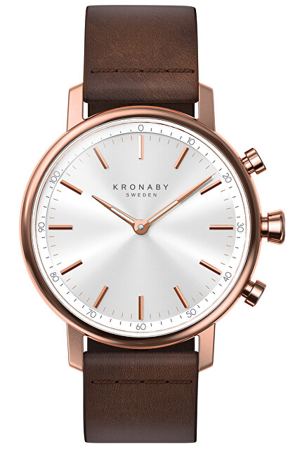 Kronaby Vodotesné Connected watch Carat A1000-1401