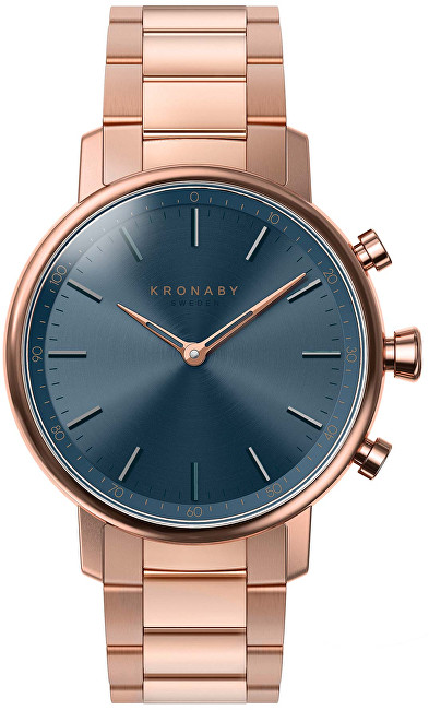 Kronaby Vodotěsné Connected watch Carat A1000-2445
