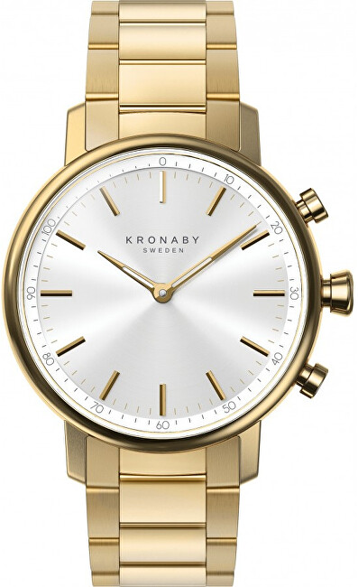 Kronaby Vodotěsné Connected watch Carat A1000-2447