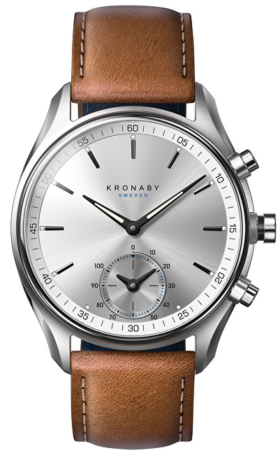 Kronaby Vodotesné Connected watch šekel A1000-0713