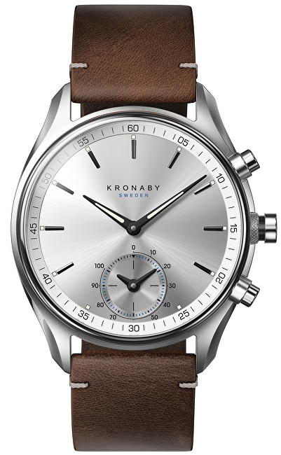 Kronaby Vodotesné Connected watch šekel A1000-0714