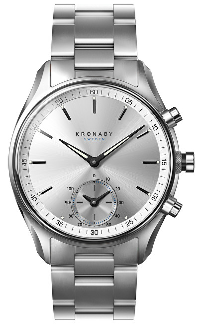 Kronaby Vodotesné Connected watch šekel A1000-0715