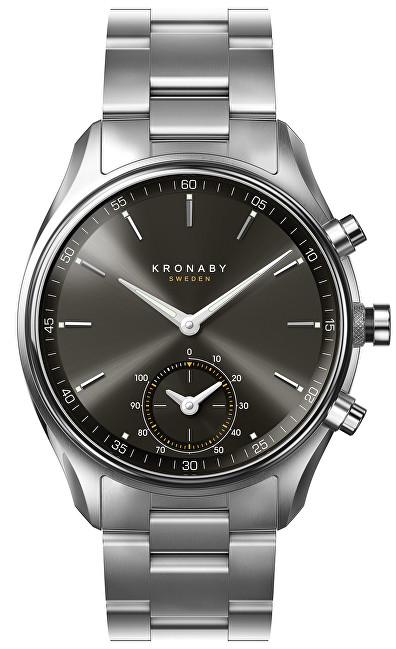 Kronaby Vodotesné Connected watch šekel A1000-0720