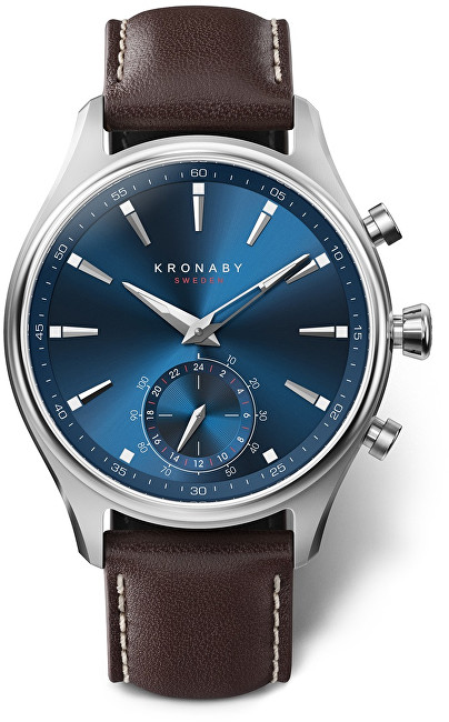 Kronaby Vodotesné Connected watch Sekel A1000-3120