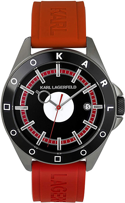 Karl Lagerfeld Red Color Block 5552772