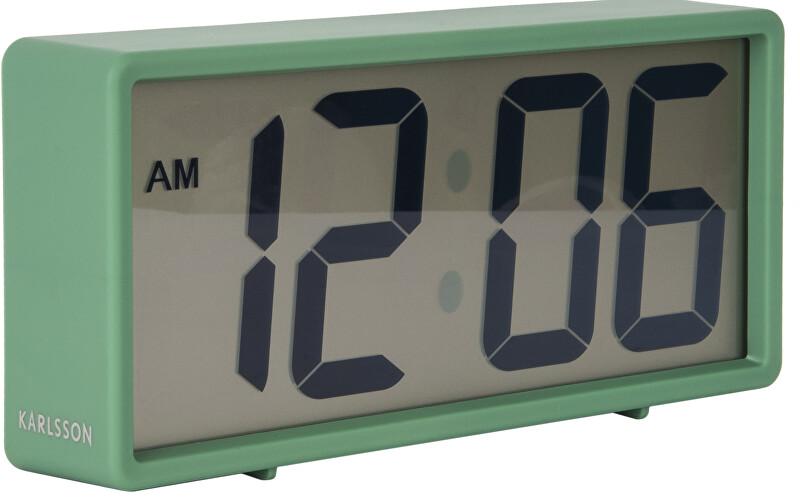 Karlsson Digitální stolní i nástěnné hodiny/budík KA5646GR