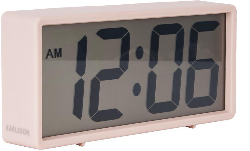 Karlsson Digitální stolní i nástěnné hodiny/budík KA5646PI