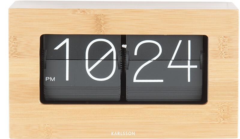 Karlsson Flip Překlápěcí hodiny KA5620WD