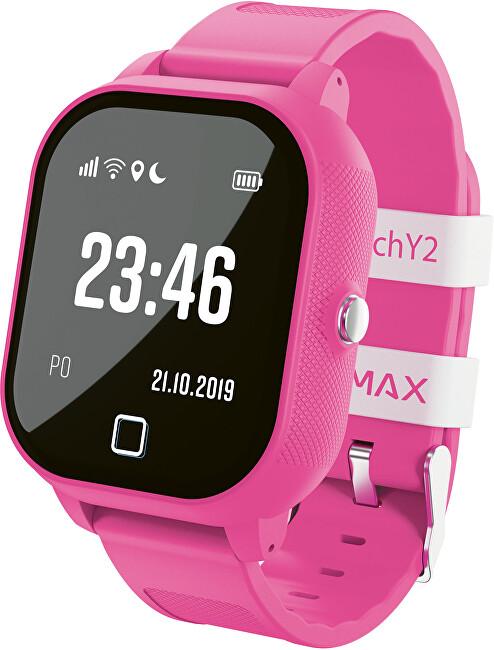 LAMAX WatchY2 dětské chytré hodinky - růžové