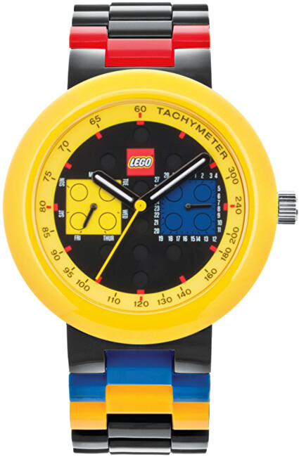 Lego Two by Two Black Yellow 9008030
